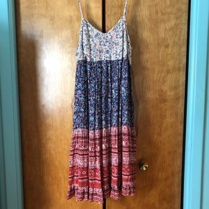 Xhilaration Easygoing Summer Floral Dress XXL/18